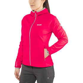 Regatta Arec II Jacket Women, neon pink/light steel